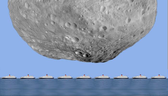 Через две недели мимо Земли пролетит астероид QE2
