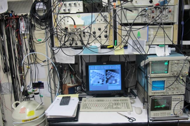 IBM microscope