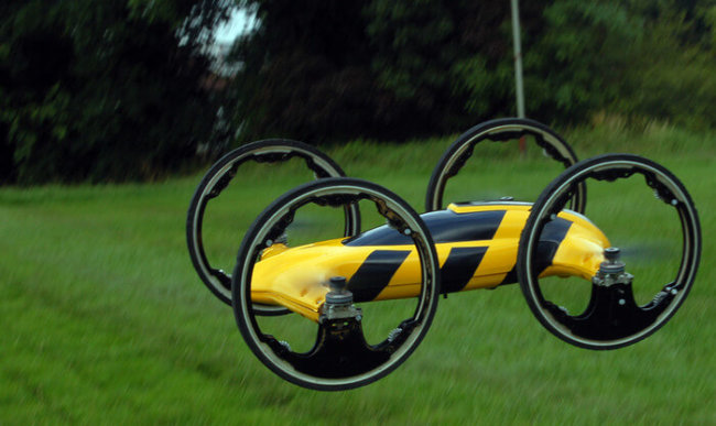 hybrid car-helicopter