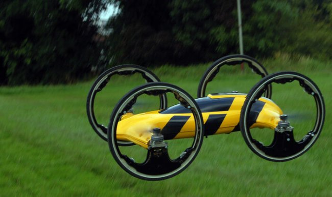 hybrid car-helicopter