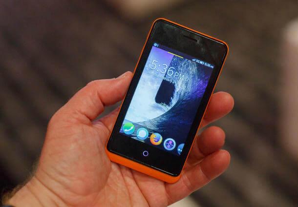 Firefox smartphone