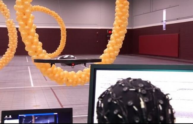 Thought Drone Hoops