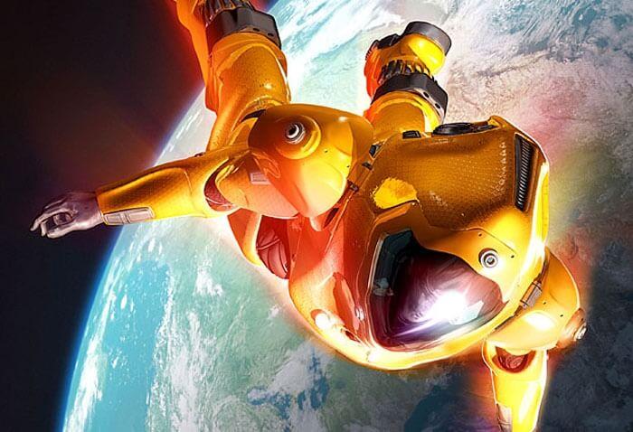 Костюм для прыжков из космоса