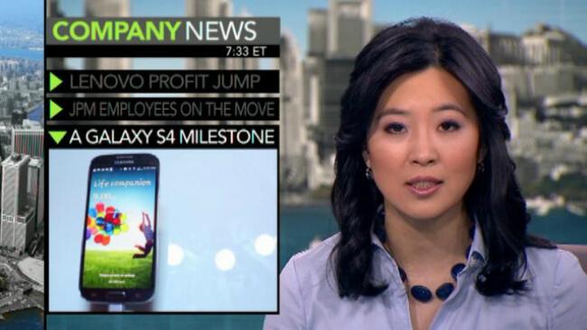 Galaxy S4 milestone