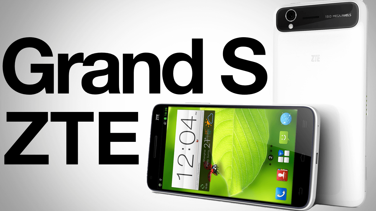 Zte Grand S обложка PNG