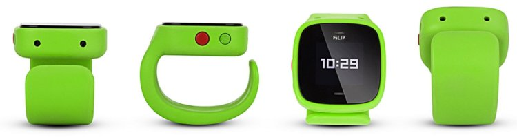 filip watches in green