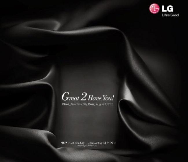 тизер LG G2