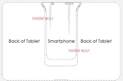 patent Samsung tablet