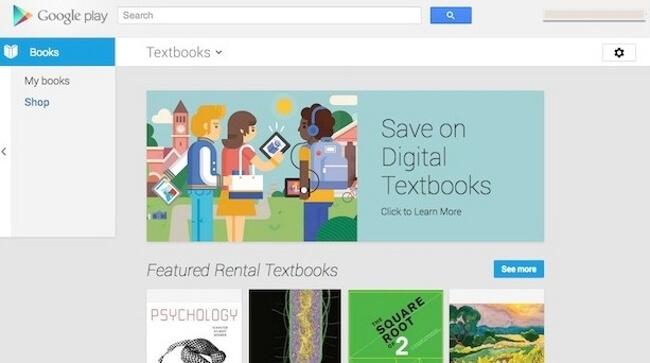 Учебники в Google Play