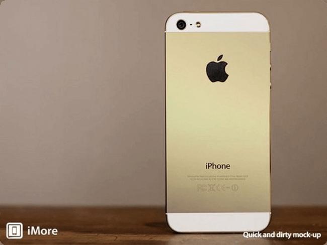 Золотистый iPhone
