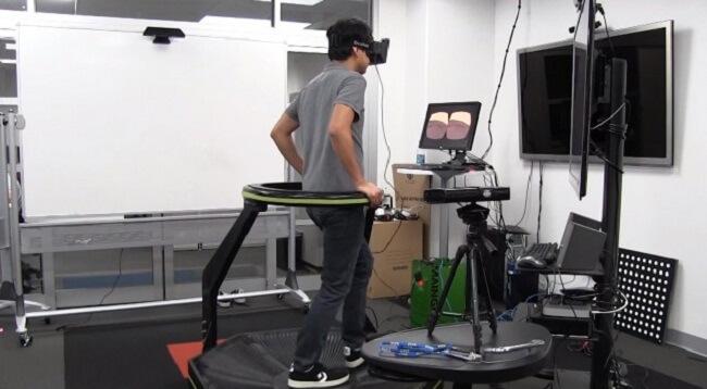 Oculus Rift и Omni