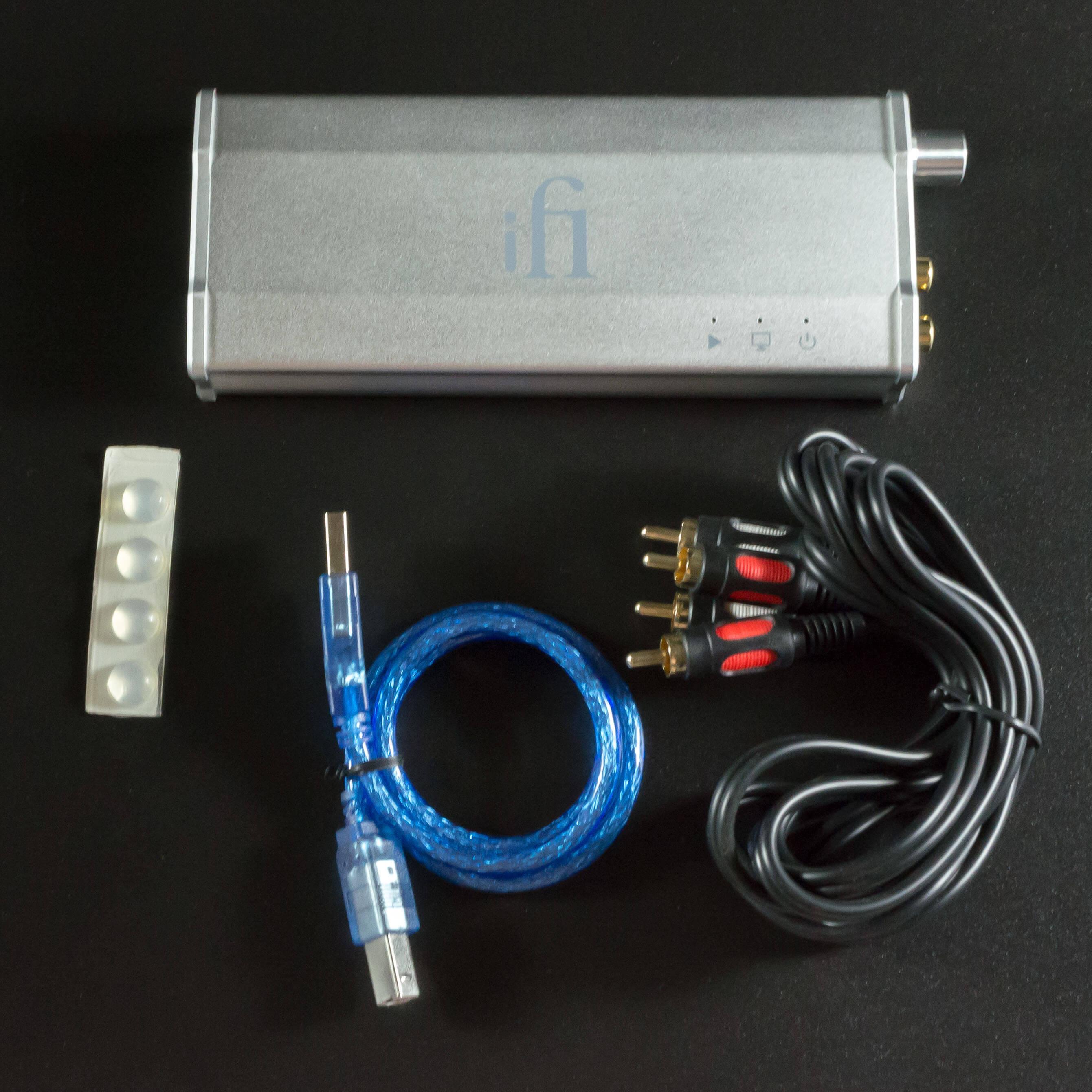 комплект поставки iDAC