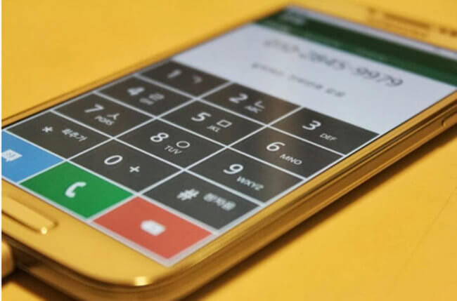 Фото якобы Galaxy S4 на базе ОС Tizen