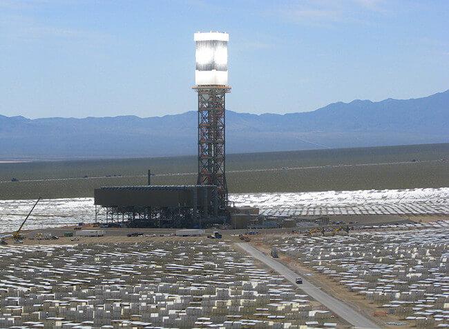 Солнечная электростанция Ivanpah