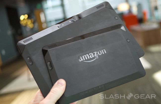 Amazon Kindle Fire HDX back