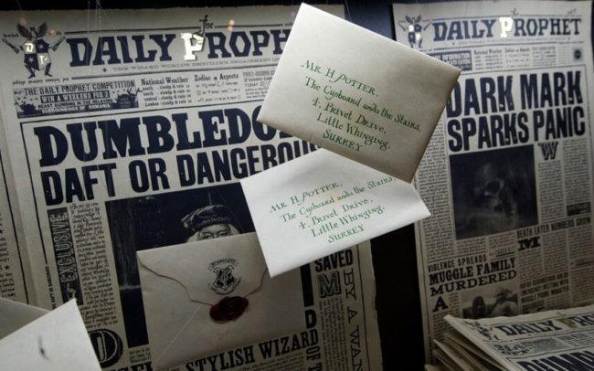 Газета Гарри Поттер