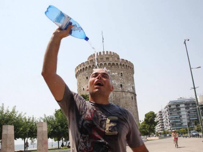 Европа изнывает от жары