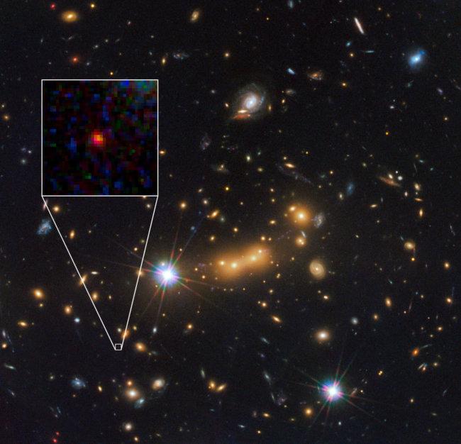 Самая удаленная галактика от земли