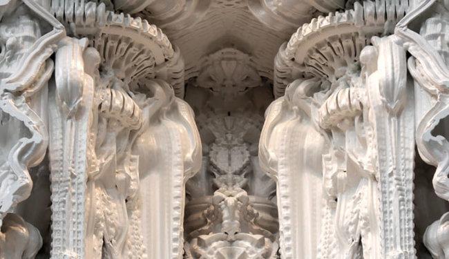 комната напечатанная на 3D принтере
