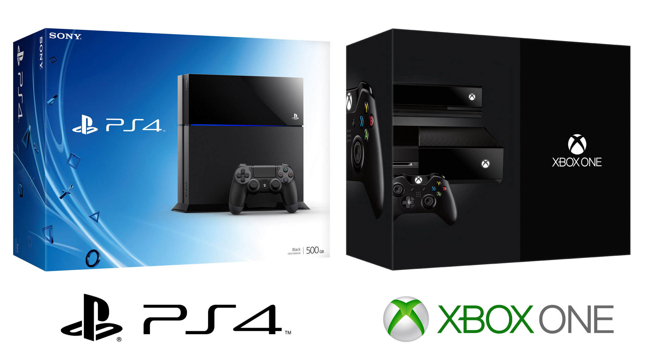 Playstation 4 и Xbox One