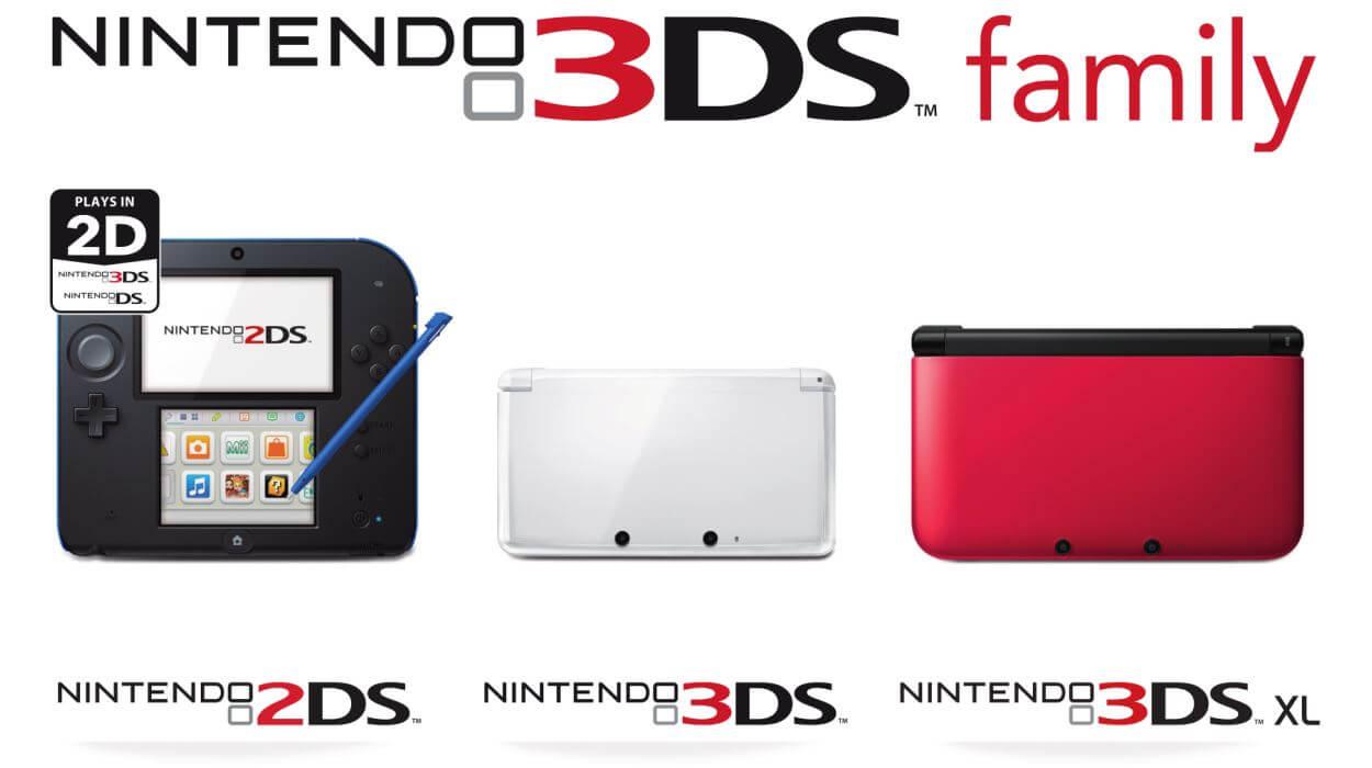 Семейство 3DS-консолей