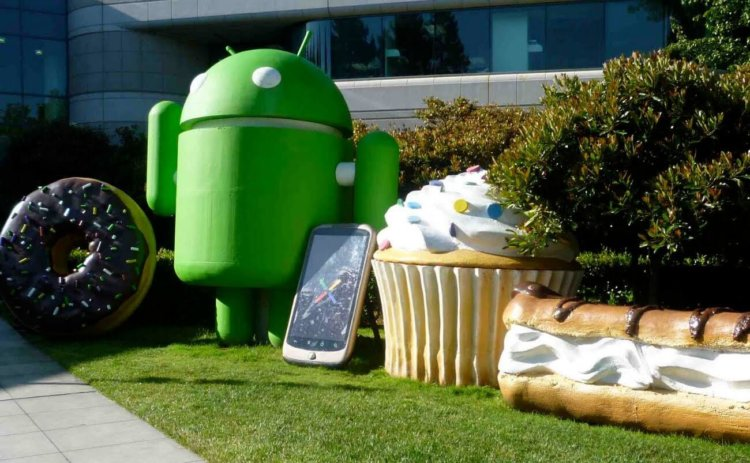 Сладкие имена Android