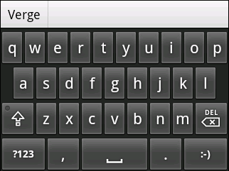 screen TVs and I keyboard Android 1.5