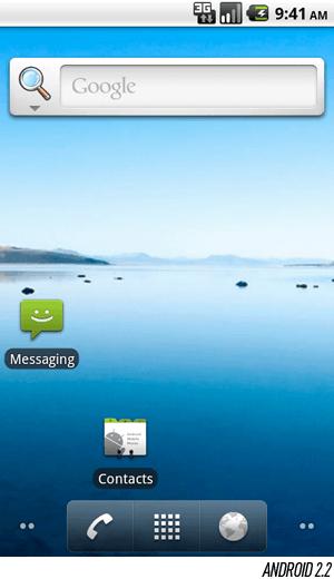 Android домашний экран