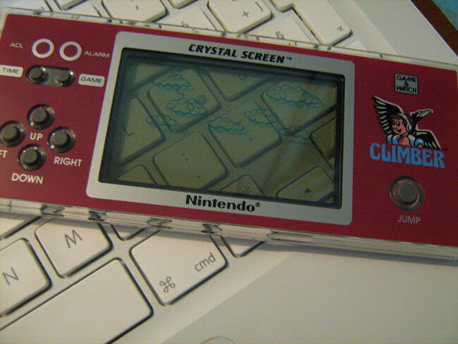 Game & Watch Crystal Screen