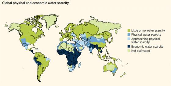 Дефицит воды