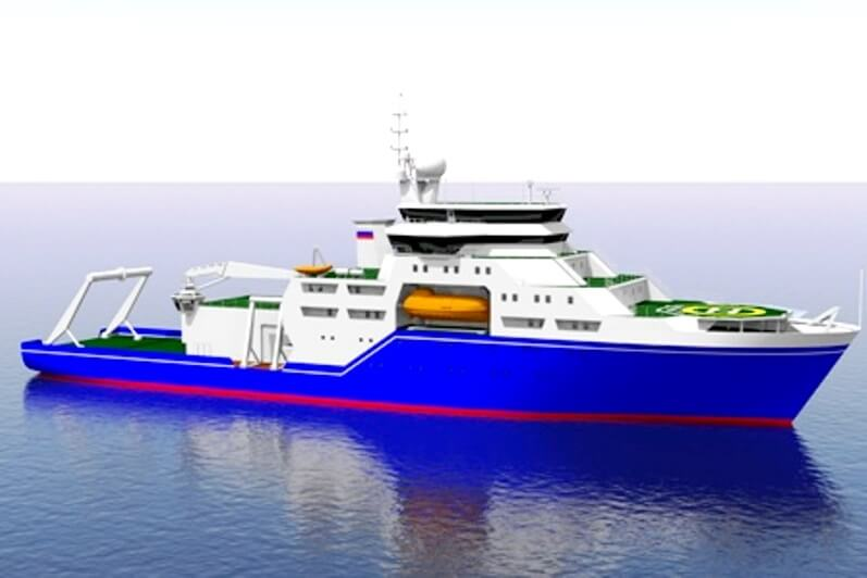 Проект нового исследовательского судна