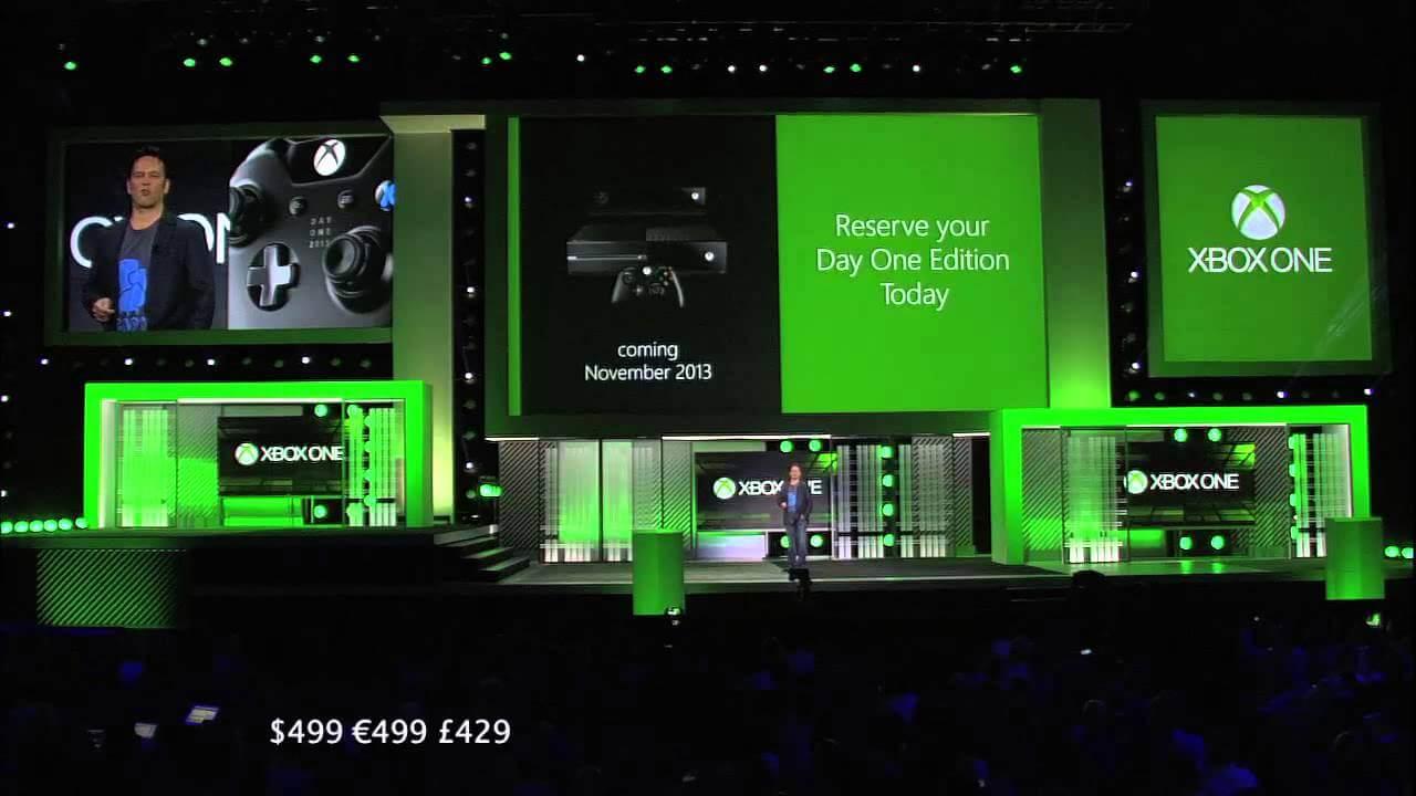Анонс цены на Xbox One