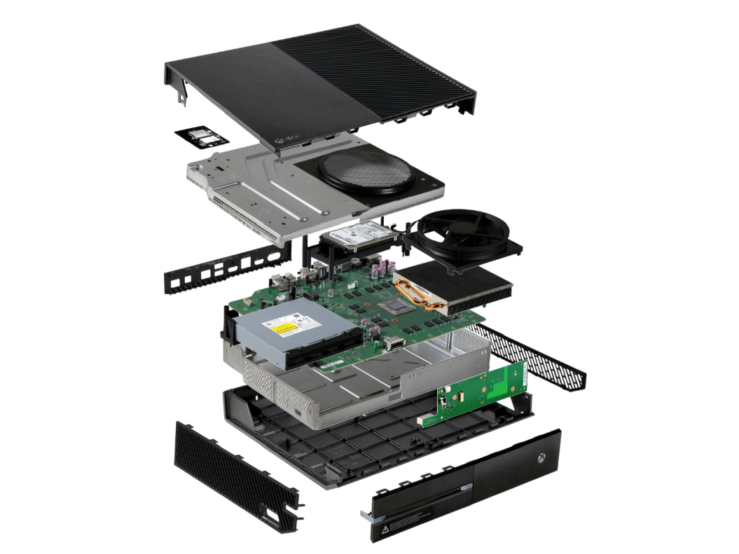 Xbox One в разобранном виде