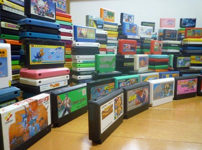 Картриджи Famicom