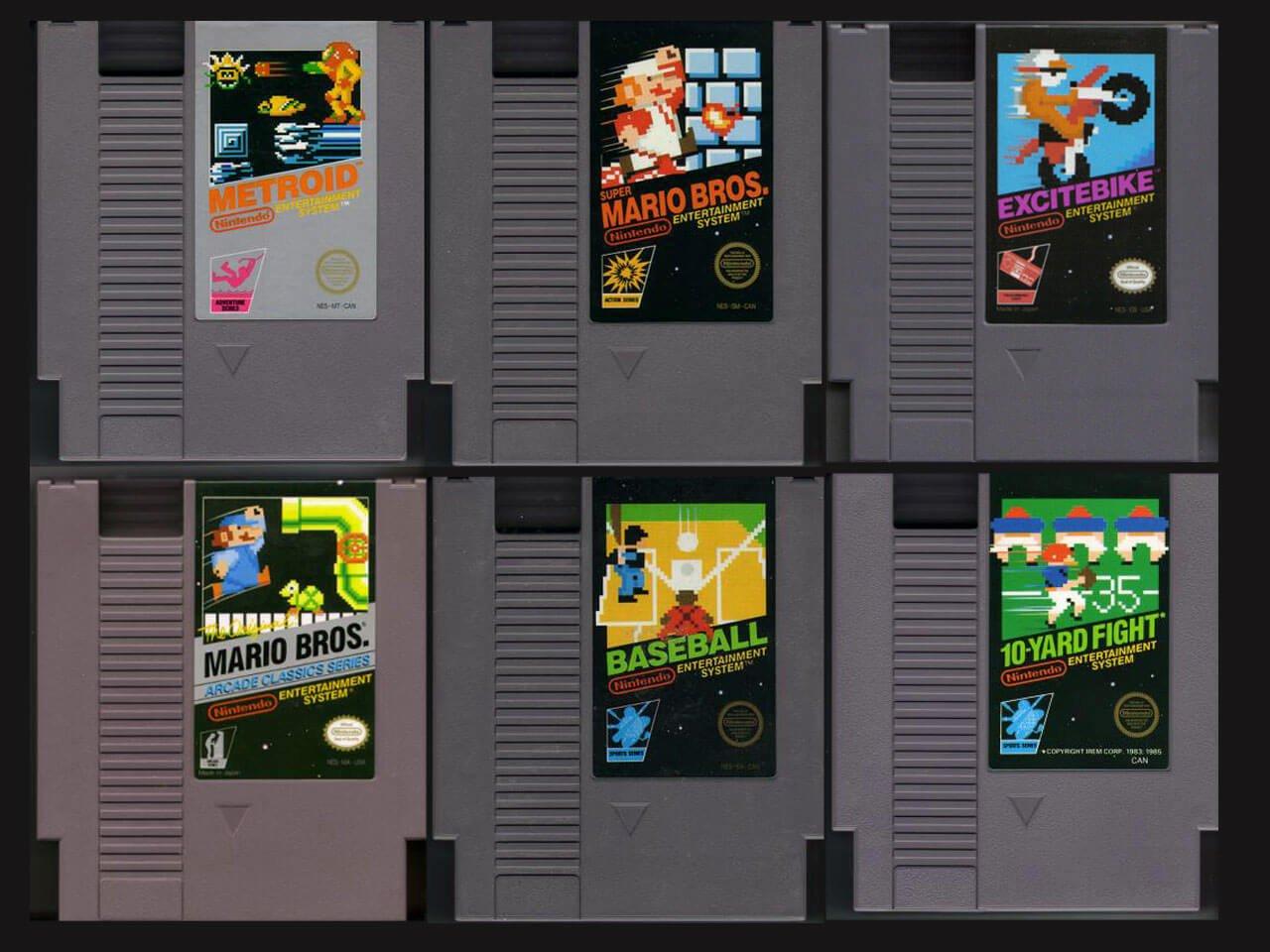 Картриджи NES