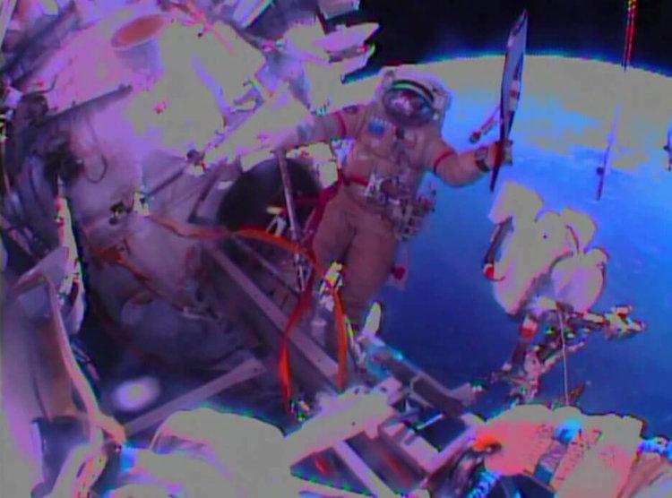 Русские в космосе