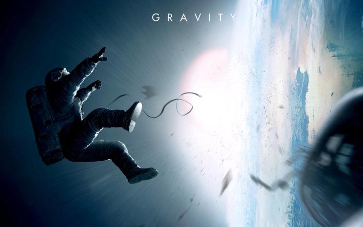 Пародия на рекламный трейлер фильма Gravity