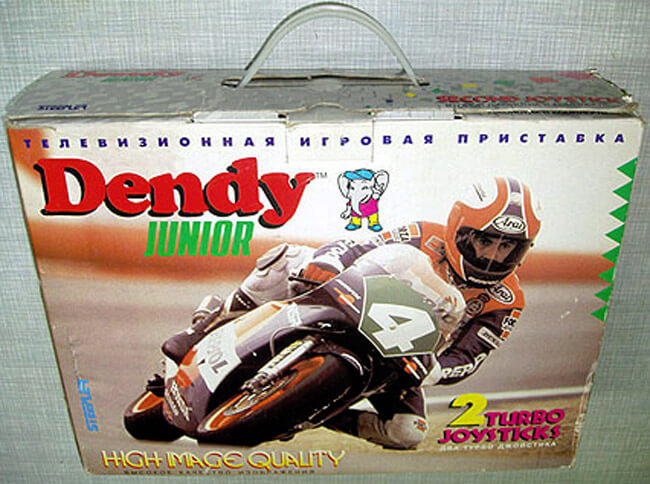Оригинальная упаковка Dendy