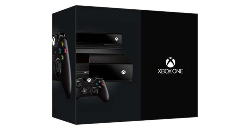 Ритейловая упаковка Xbox One