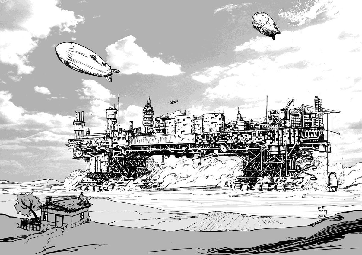 Проект передвижного города