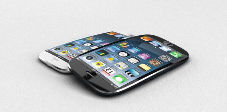 Рендер изогнутого iPhone