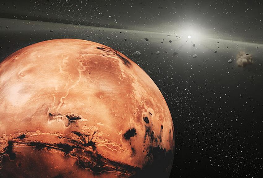 Марс влияет на внешний вид астероидов