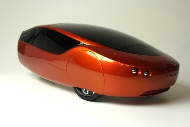 Urbee 2 - автомобиль, напечатаный на 3D принтере