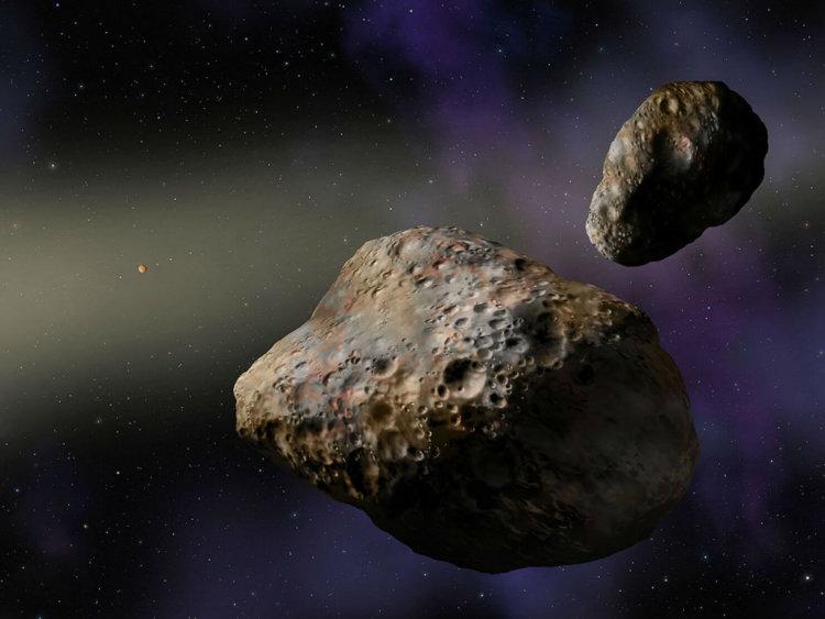 Ученые планируют использовать астероиды в качестве космических баз