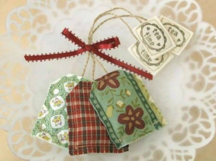 Пакетики чая бывают оригинальными и даже дизайнерскими