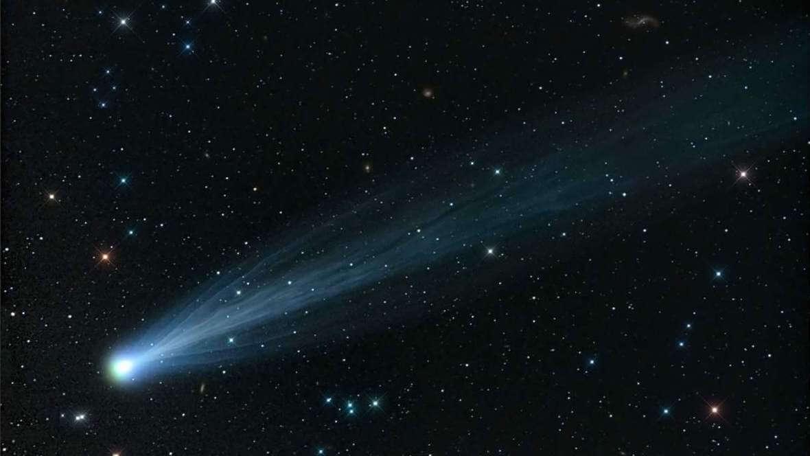 Комета ISON распалась