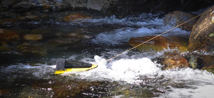 HydroBee портативная гидроэлектростанция в действии