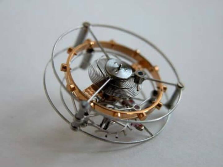 Турбийон изобретен в 1801 году