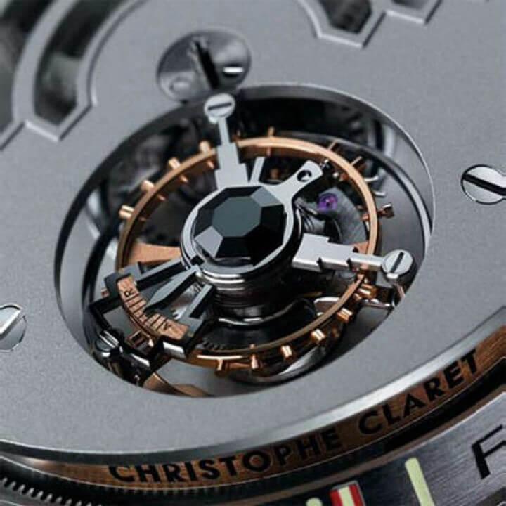 Турбийонный механизм в современных моделях элитных часов