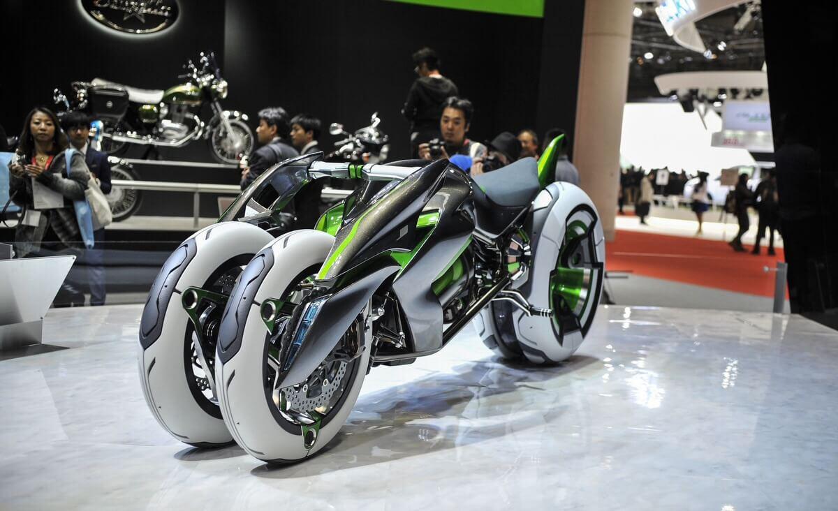 Кавасаки представила мото-трансформер